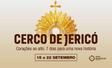 Quinto dia do Cerco de Jericó!